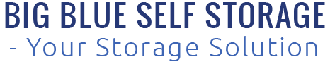 Big Blue Self Storage - Your Storage Solution, Logo
